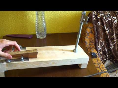 Сделать заточку для ножей в домашних условиях