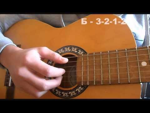 Разбор песни на гитаре.
