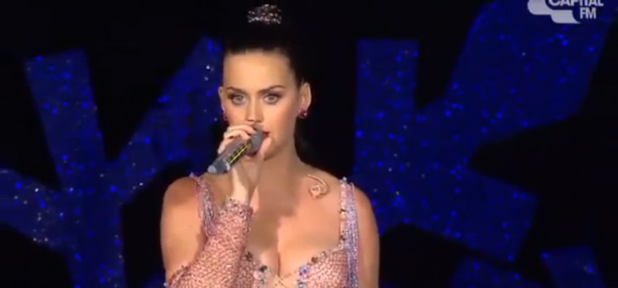 Katy Perry - Uconditionally (Capital FM Live Jingle Bell Ball 2013)  HD 08 12 2013