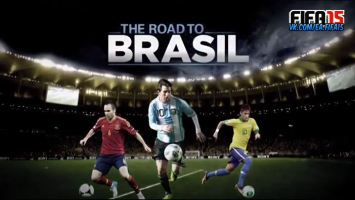 2014 FIFA World Cup Road to Brazil part 1 @ea.fifa15 #Like