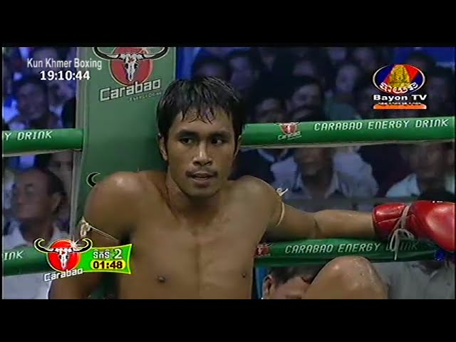 Khmer Boxing, Chhoeun Chhaiden VS Rambo Keat Najung (Thai), 22-May-2016, Bayon TV Boxing смотреть онлайн