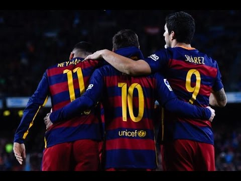 MSN - The Magic Trio - Messi - Suarez - Neymar 2015/16 Unbelievable SKILLS смотреть онлайн