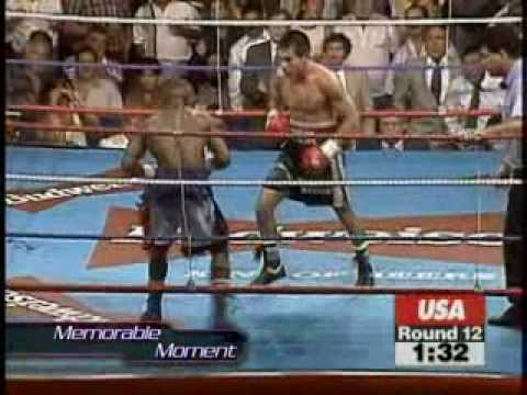 Boxing - Marco Antonio Barrera Vs Agapito Sanchez