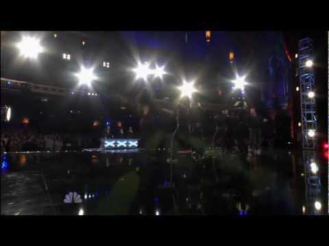 Красотища! America's Got Talent - Team iLuminate Performance.
