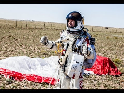 Mission Accomplished - Red Bull Stratos - World Record Freefall