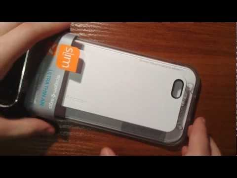 Spigen SGP Ultra Thin Air (White) обзор