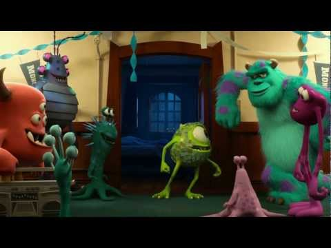 Университет монстров / Monsters University (2013). Тизер