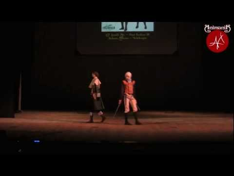 Animania 2012 Luneth, Arc Final Fantasy III j-games cosplay defile