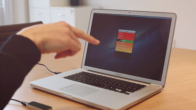 Leap Motion + Clear for Mac - Preview