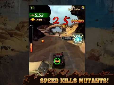 Mutant Roadkill available on iOS and Android!