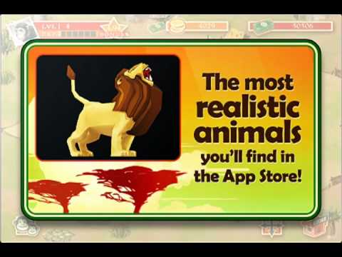 Safari Zoo Trailer - Glu Mobile