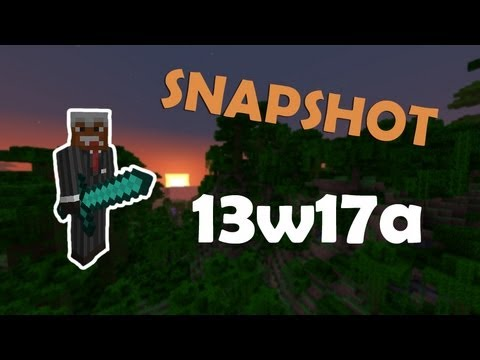 Обзор на Minecraft Snapshot 13w17a (Review)