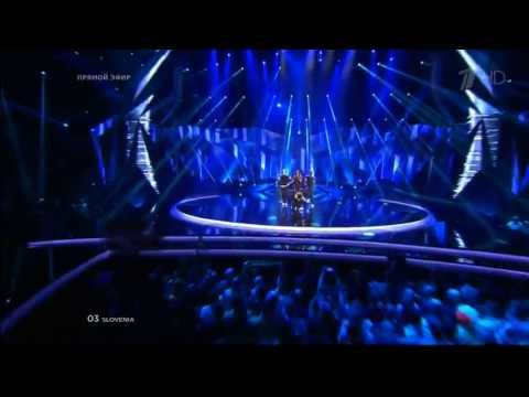 Евровидение 2013 Slovenia Hannah - \'\'Straight Into Love\'\'   - Semi Final 1