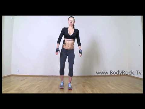 Фитнесс - Side Lunge Jump Exercise