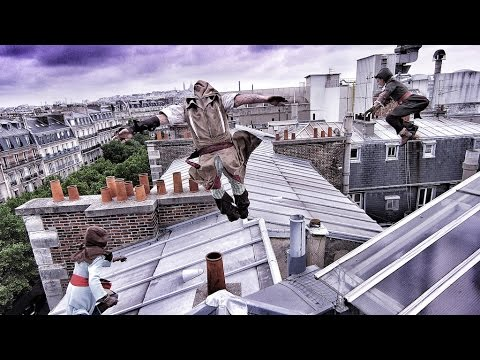 Стэдикам Behind The Scenes - Assassin's Creed Unity meets parkour
