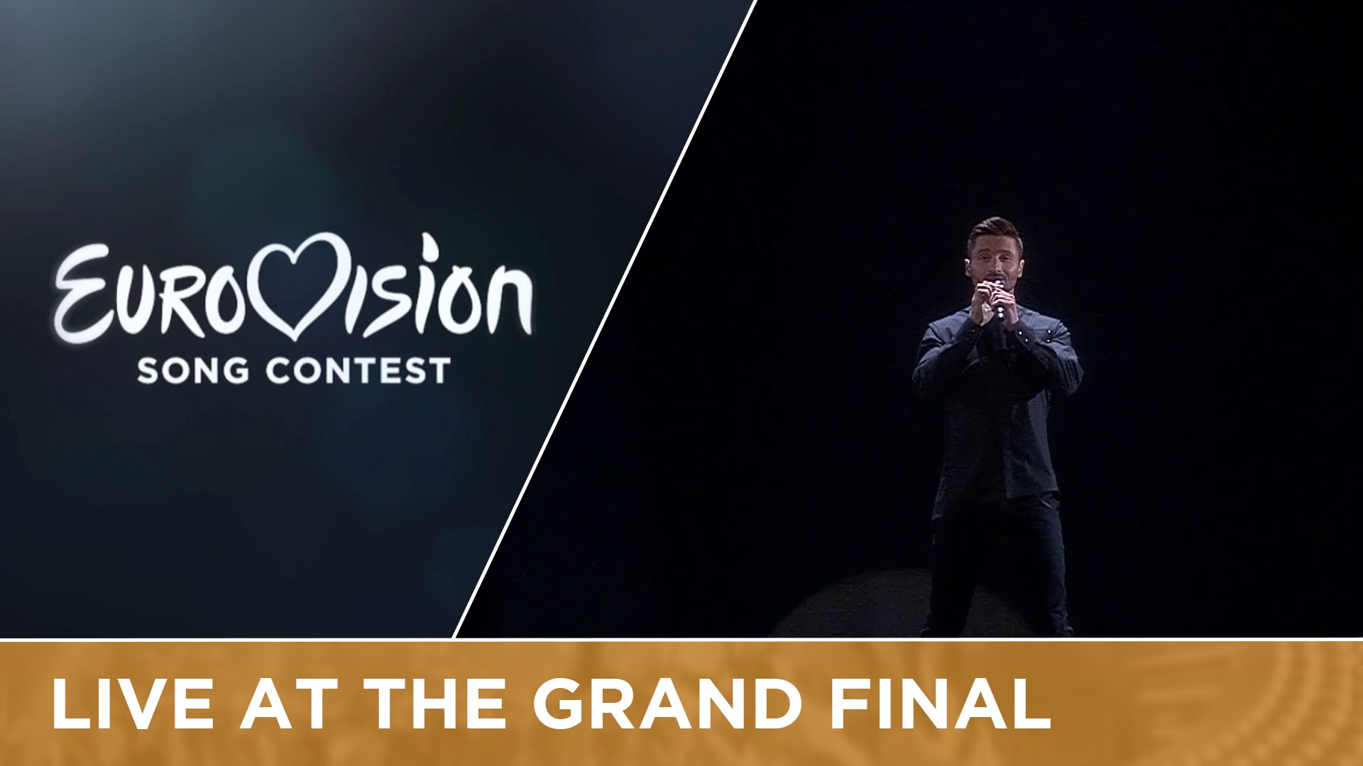 LIVE - Sergey Lazarev - You Are The Only One (Russia) at the Grand Final настоящий победитель Евровидение