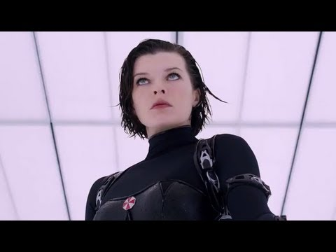 RESIDENT EVIL RETRIBUTION - Official Trailer (2012)