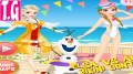 Elsa vs Anna Bikini Contest— GAMES FOR KIDS.  HD 1080p онлайн супер